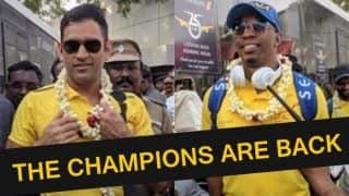 IPL 2018 Finals: Watch MS Dhoni's CSK Receive a King-Like Welcome on Reaching Chennai
