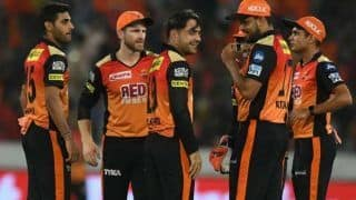 SunRisers Hyderabad IPL 2020 Full Schedule: Date, Venue And India Timings
