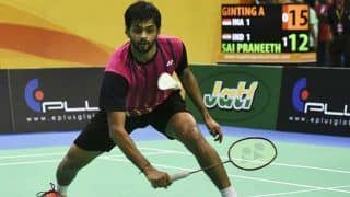 Japan Open 2019: B Sai Praneeth Crashes Out of Tournament After Losing Semifinal Against World No.1 Kento Momota