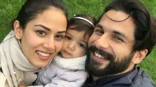 Shahid Kapoor Puts his Babymoon With Wife Mira and Daughter Misha on Hold Because Of Batti Gul Meter Chalu?