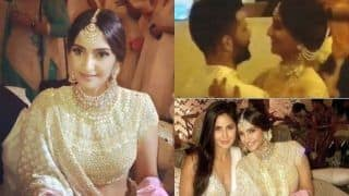 Inside Sonam Kapoor - Anand Ahuja's Mehendi and Sangeet: From The Couples' Romantic Dance to Papa Anil Kapoor's Bhangra (VIDEOS)