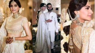 Here's When Sonam Kapoor Made Up Her Mind To Marry Anand Ahuja And Placed The Order For Her Mehendi And Sangeet Lehenga