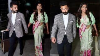 Sonam Kapoor - Anand Ahuja Off To Cannes! Will They Walk The Red Carpet Together Just Like Abhishek-Aishwarya Rai Bachchan?
