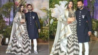 Sonam Kapoor - Anand Ahuja Wedding Reception: Kareena Kapoor - Saif, Shahid Kapoor - Mira, Shah Rukh - Gauri, Ranbir Kapoor - Alia Bhatt, Katrina, Kangana, Akshay Kumar - Twinkle And More Celebs Arrive In Style (PICS, Videos)