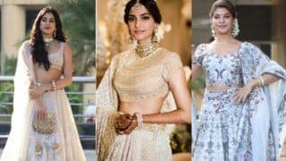 Sonam Kapoor - Anand Ahuja's Mehendi And Sangeet: Katrina Kaif, Karisma Kapoor, Janhvi Kapoor, Varun Dhawan, Arjun Kapoor And More At The Venue (PICS)