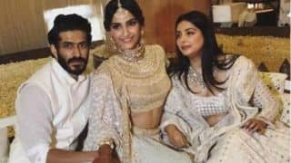 Sonam Kapoor - Anand Ahuja Mehendi and Sangeet: Harshvardhan Kapoor Plugs His Film Bhavesh Joshi With An Adorable Picture