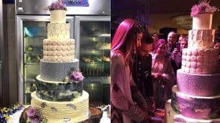 See How Sonam Kapoor and Anand Ahuja's Drool-Worthy Cake Was Brought To Life (Video)