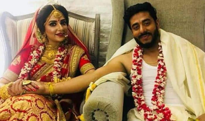 Bengali Actress Subhashree Ganguly Weds Director Raj Chakraborty