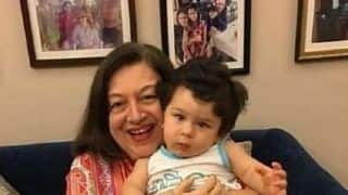 Taimur Ali Khan's Quizzical Expression In This Unseen Pic With Granny Babita Is The Perfect Start To Our Day