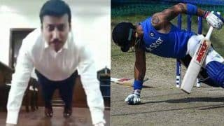Rajyavardhan Singh Rathore Challenges Virat Kohli and other celebrities, Saina Nehwal Accepts