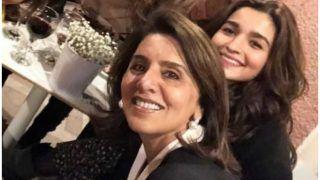 Ranbir Kapoor's Mother Neetu Kapoor And Rumo   ured Girlfriend Alia Bhatt Exchange Hearts And Kisses On Social Media - See Pics