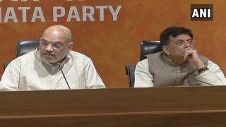 कांग्रेस के नेता गोवा और मणिपुर में आराम कर रहे थे इसलिए हमने वहां सरकार बनाई: अमित शाह