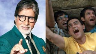 Amitabh Bachchan Becomes the Fourth Idiot from Aamir Khan's 3 Idiots in new Tata Sky Advertisement