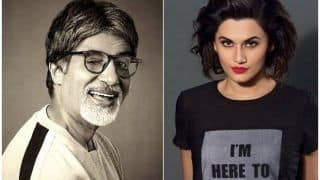 Amitabh Bachchan And Taapsee Pannu Reunite For Sujoy Ghosh's Next; Shoot Kicks Off In June