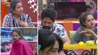Bigg Boss Marathi 5 May, 2018 Day 20 Show Highlights: Rajesh Shringarpore And Resham Tipnis Sneak Into The Bathroom, Usha Nadkarni And Megha Dhade Express Disgust - Watch Videos