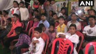 Bahraich: Schoolkids Made to Sit For 8 Hours Without Food For UP Minister Anupama Jaiswal's Event