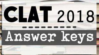 CLAT 2018: Answer keys जारी, clat.ac.in पर ऐसे देखें