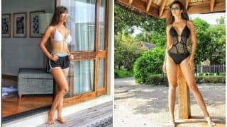 Hotness Alert! Disha Patani Sets Temperatures Soaring In This Sexy Black Monokini - See Pics