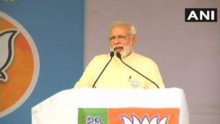 पीएम मोदी ने कांग्रेस पर साधा निशाना, 'सेना के कुत्तों से सीखें राष्ट्रभक्ति'