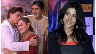 Ekta Kapoor Rubbishes Rumours Of Recreating Kabhi Khushi Kabhie Gham On The Small Screen - Check Tweet