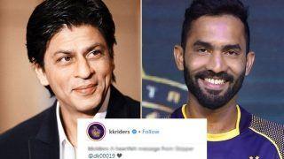IPL 2018: Dinesh Karthik's Heartfelt Message For KKR Fans, Shahrukh Khan And Jay Mehta Is Winning The Internet