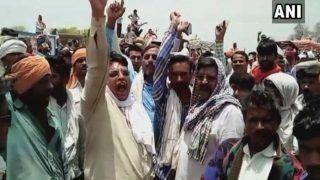 बुंदेलखंड: धान की खरीदारी न होने से किसानों कीभूख हड़ताल जारी,बोले- हम मरने को मजबूर हैं
