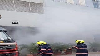 Mumbai: Fire Breaks Out at Technic Plus One Building in West Goregaon; no Casualties Reported