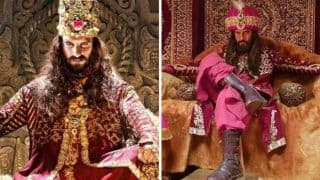 Ravi Dubey Is Giving Ranveer Singh Some Tough Competition By Getting Into The Skin Of Alauddin Khilji - View Pics And Video