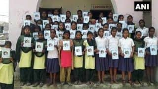 Bihar: Jamui District Gives 'Swachh' Booklets, Notebooks to Schoolkids, Cover Has Photo of Pakistani Girl