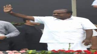 HD Kumaraswamy Takes Oath as Non-BJP Opposition Puts up Unity Show