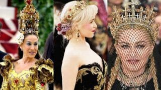 Met Gala 2018: Inspires Elaborate Head-Gears With Rihanna, Priyanka Chopra, Madonna And More