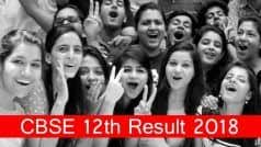 CBSE Class 12th Result 2018 Declared! Check cbse.nic.in For Marks