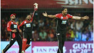 IPL 2018: उमेश यादव का कहर, RCB ने पंजाब को 88 रन पर समेटा