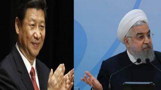 परमाणु समझौते को लेकर विवादों के बीच ईरानी, प्रेसिडेंट रूहानी का का स्वागत करेगा चीन