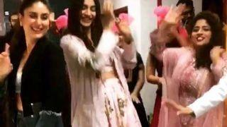 veere di wedding: सोनम कपूर के साथ करीना ने किया भांगड़ा, जमकर हुई मस्ती