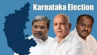 Karnataka Election 2018 Results Today: Counting of Votes to Begin at 8 AM Amid Tight Security, Celebrations, Bursting of Crackers Banned