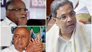 कर्नाटक में त्रिशंकु विधानसभा, बीजेपी बहुमत से कुछ दूर अटकी, कांग्रेस ने चला दांव