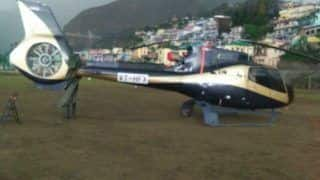 Helicopter on its Way to Kedarnath Makes Emergency Landing in Chamoli; All Six Passengers Safe