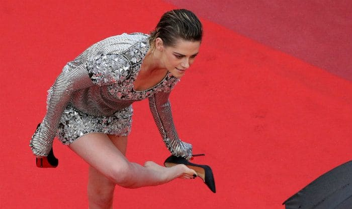 'No flats policy': Kristen Stewart ditches heels on Cannes Red Carpet