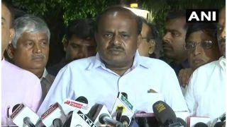 कुमारस्वामी को मिला सरकार बनाने का न्योता, 23 मई को लेंगे सीएम पद की शपथ