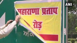 Akbar Road in Delhi 'Renamed' After Maharana Pratap For a Brief Period; Probe Launched