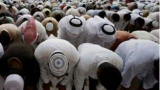 Arab Muslims Celebrate Eid With Religious Fervour