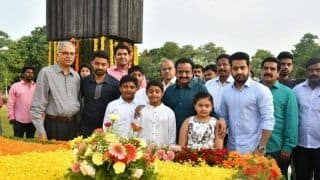 Junior NTR And Nandamuri Kalyan Pay Tribute To NTR On His 96th Birth Anniversary