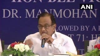 If GST 'Celebration of Honesty', Why Did BJP Oppose it For 5 Years: Congress Leader P Chidambaram