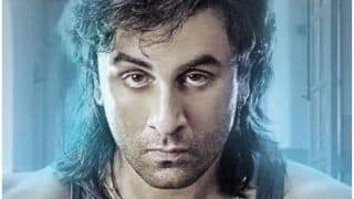Sanju New Poster : Ranbir Kapoor Nails Sanjay Dutt's Khalnayak Look With His Long Hair And Beefed Up Body