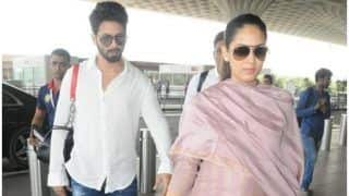 Shahid Kapoor And Mira Rajput Head To Delhi But We Wonder Where Misha Kapoor Is!