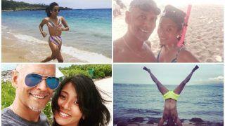 Milind Soman And Ankita Konwar Are Enjoying Their Honeymoon In Hawaii - View Pics
