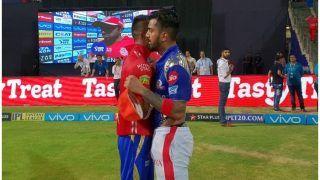 बीच मैदान दो क्रिकेटरों ने निभाया 'दोस्ताना', IPL में पहली बार दिखा ऐसा नजारा