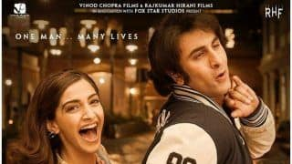 Sanju New Poster : Ranbir Kapoor And Sonam Kapoor Give Us An Insight Into The Crazy Love Life Of Sanjay Dutt In The 80s
