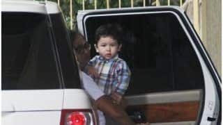 Taimur Ali Khan SPOTTED On His Way To Aunt Karisma Kapoor's Residence While Mommy Kareena Kapoor Is Busy With Veere Di Wedding Promotions